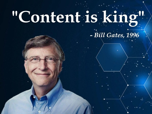 Seo content content is king