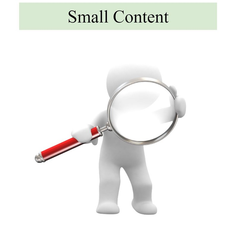 Dạng content small